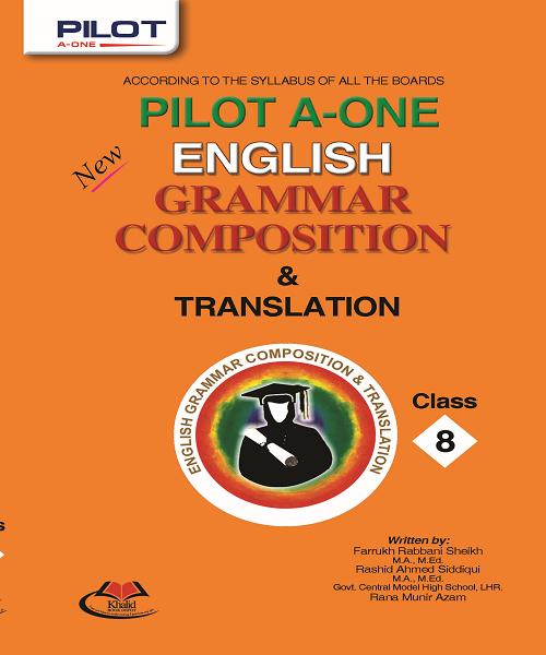 Pilot A One English Grammar Composition Translation