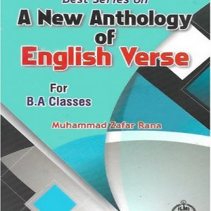 A New Anthology of English Verse