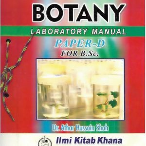 Botany Laboratory Manual