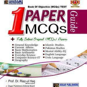 1 PAPER MCQs Final