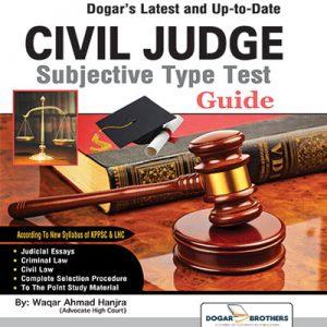 Civil Judge Subjective Guide