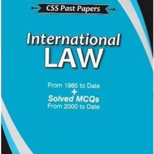 CSS Past Papers: International Law