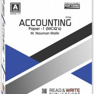 Accounting Paper-1 Nauman Malik