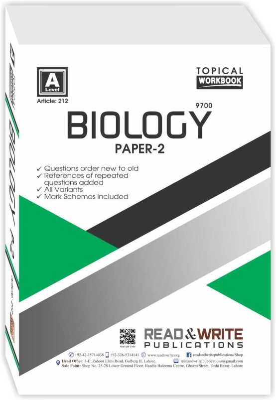 Biology Paper-2 Work Book