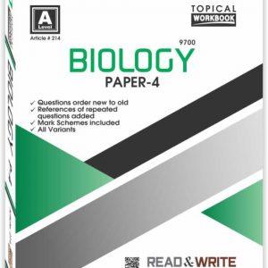 Biology Paper-4 Work Book