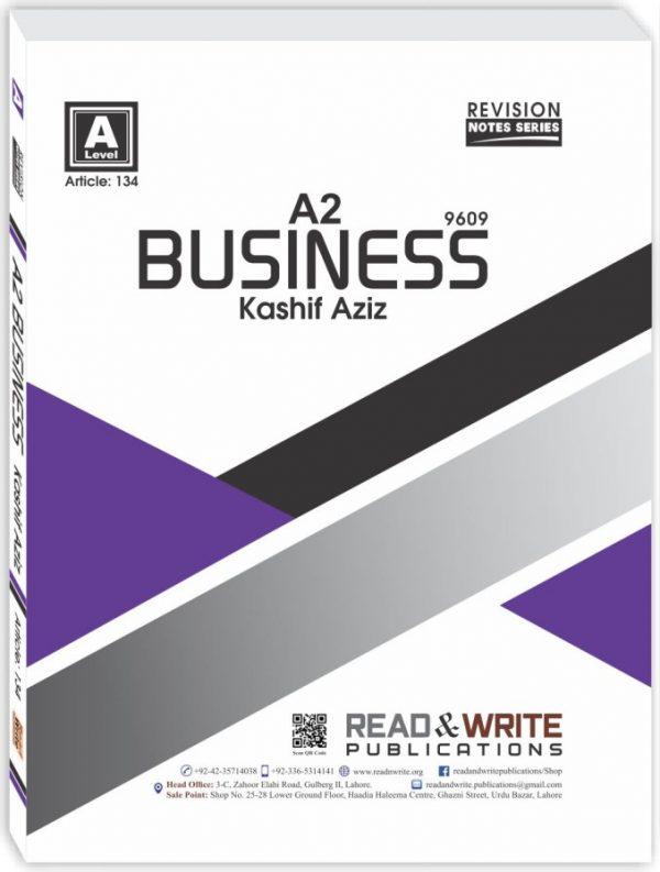 Business Kashif Aziz Notes
