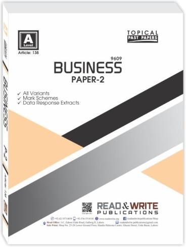 Business Paper 2 Past Paper