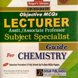 Lecturers Assist/ Associate Professor Subject Specialist Guide for Chemistry