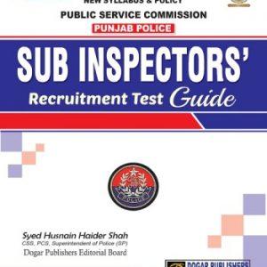 Sub Inspector Guide Husnain