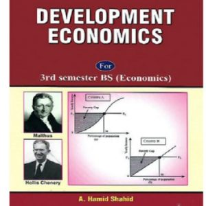 Development Economics Hamid Shahid